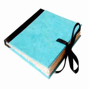 Square Pirate Book Blue Color