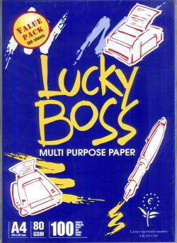 Lucky Boss A4 Copy Paper 80gsm/75gsm/70g