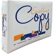 Excellent A4 Copy Paper 80gsm/75gsm/70gs