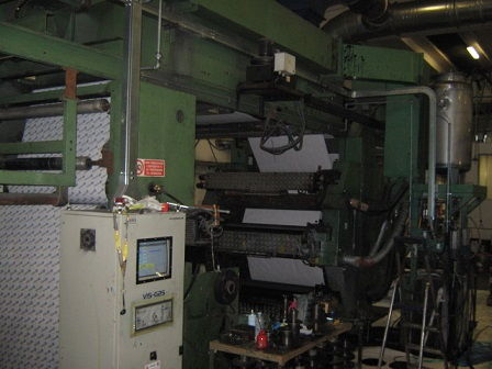 Stack Type 6 Color Printing Machine