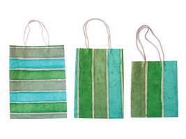 Handmade Paper Bag - Multi Color