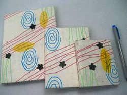 Retro Paper Note Books