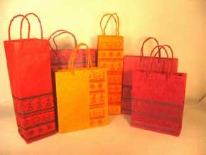 Handmade Gift Bag and Wine Bag