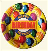 Paper Plate for Birth Day Party