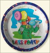 Printed and Polycoated Paper Plate