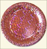 Paper Plate - Brown Color