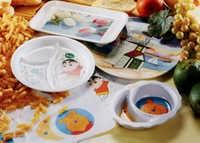 Melamine Overlay Dinnerware