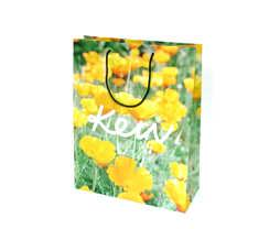 Matt Lamination Bag - Flower Printed
