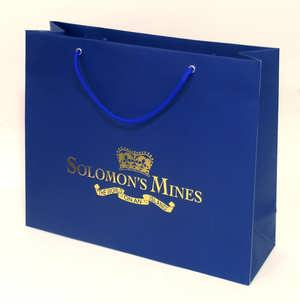 Hot Stamping Bag - Medium Blue Color