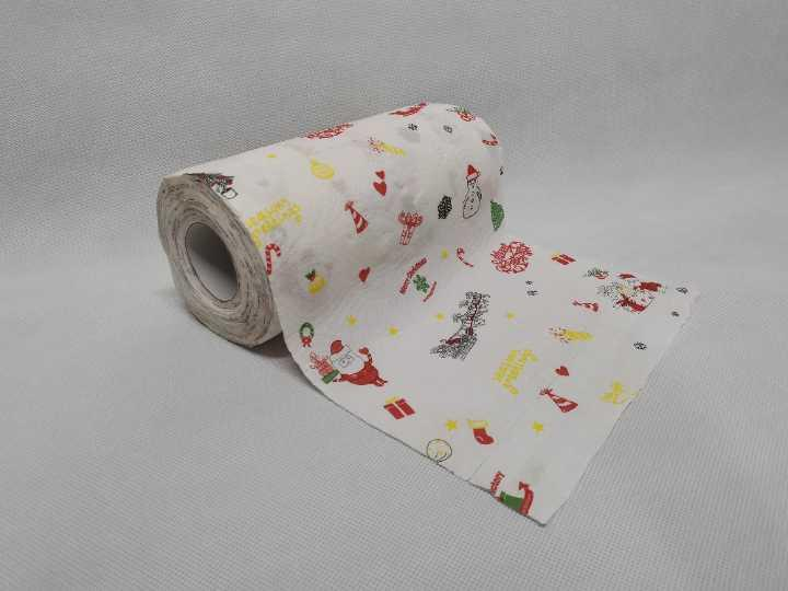 Printed Kitchen Towel Paper Rolls
