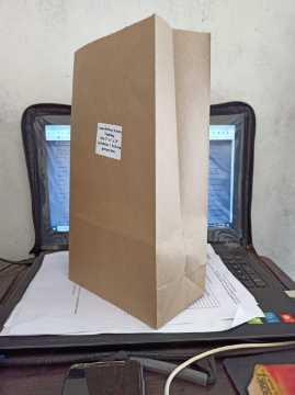 Sos Paper Bags (Square Paper Bags)