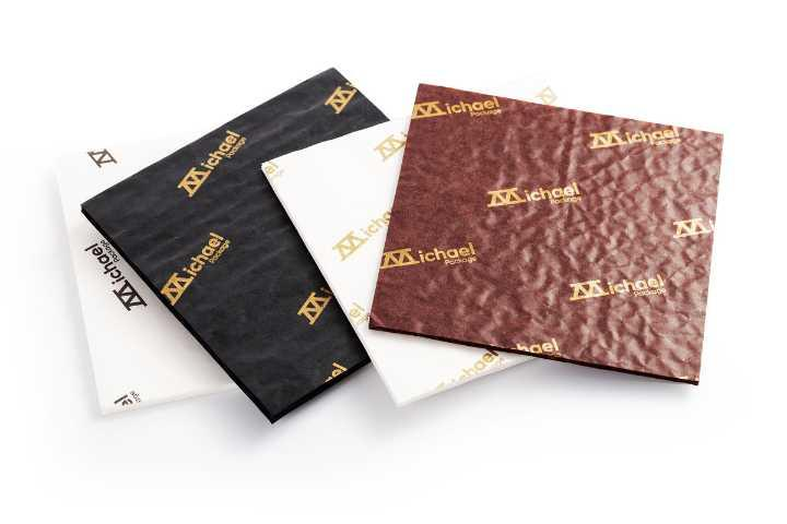 Paper Cushion Pads for Chocolate Packaging