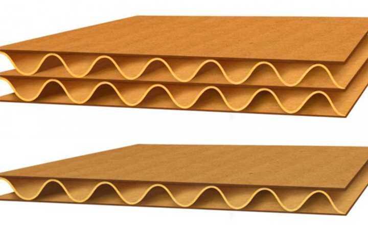 3 Layers Corrugated Cardboard